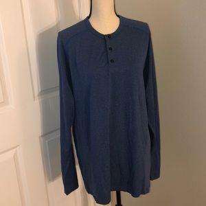 Men's lululemon vent tech henley shirt